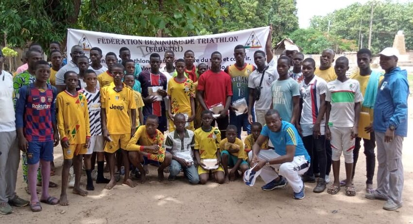 L'étape de Djougou réussit, le triathlon au Benin se révèle